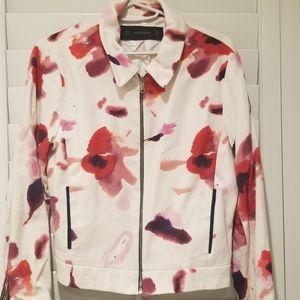 Zara Jacket, floral print
